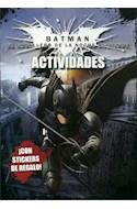 Papel BATMAN EL CABALLERO DE LA NOCHE ASCIENDE ACTIVIDADES (CON STICKERS DE REGALO)