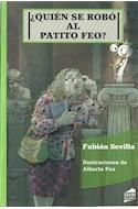 Papel QUIEN SE ROBO AL PATITO FEO (COLECCION AMARANTA 39)