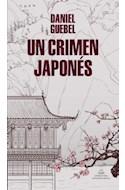 Papel UN CRIMEN JAPONES (COLECCION LITERATURA RANDOM HOUSE)