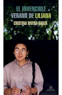 Papel INVENCIBLE VERANO DE LILIANA (COLECCION LITERATURA RANDOM HOUSE)