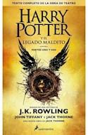 Papel HARRY POTTER Y EL LEGADO MALDITO [PARTES UNO Y DOS DEL GUION ORIGINAL] [HARRY POTTER 8] (BOLSILLO)