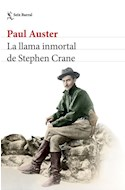 Papel LLAMA INMORTAL DE STEPHEN CRANE (COLECCION BIBLIOTECA PAUL AUSTER)