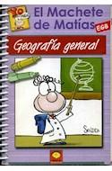 Papel MACHETE DE MATIAS GEOGRAFIA GENERAL EGB
