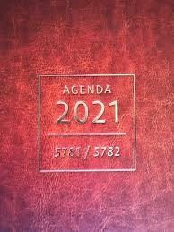 Papel Agenda 2021 5781/5782