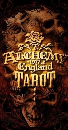 Papel Alchemy 1977 England (Libro + Cartas)  Ed. Faournier - Tarot