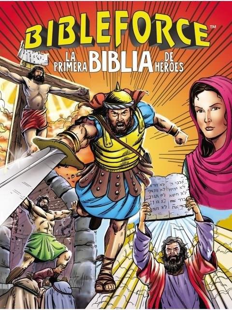 Papel Bibleforce. La Primera Biblia De Heroes