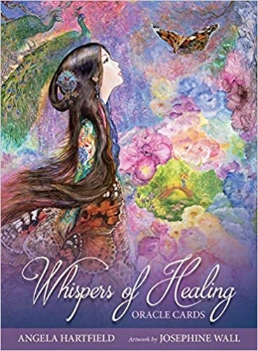 Papel Whispers Of Healing Oracle Cards (Tarot, Libro + Cartas)