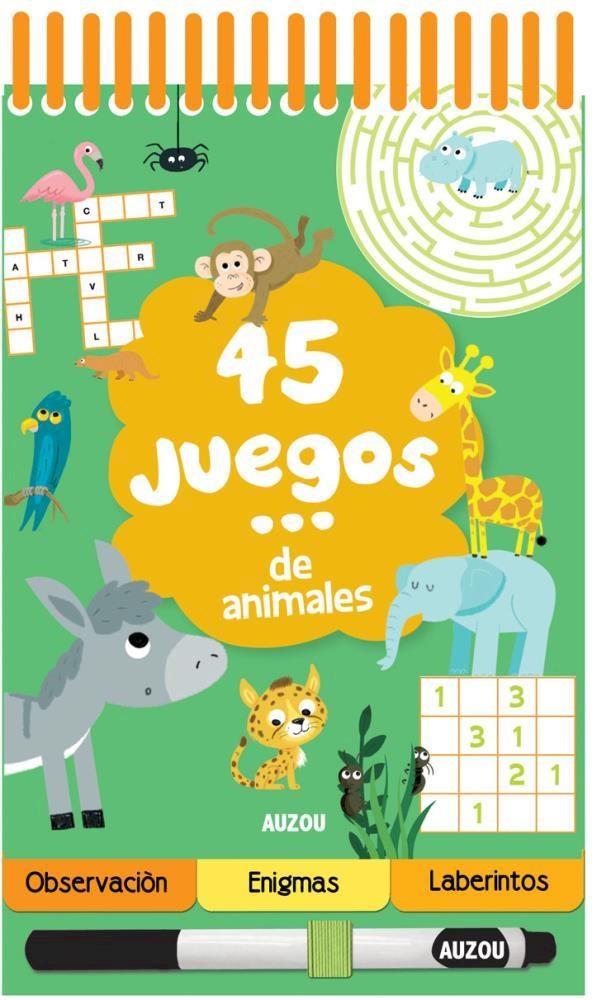Papel 45 Juegos De Animales