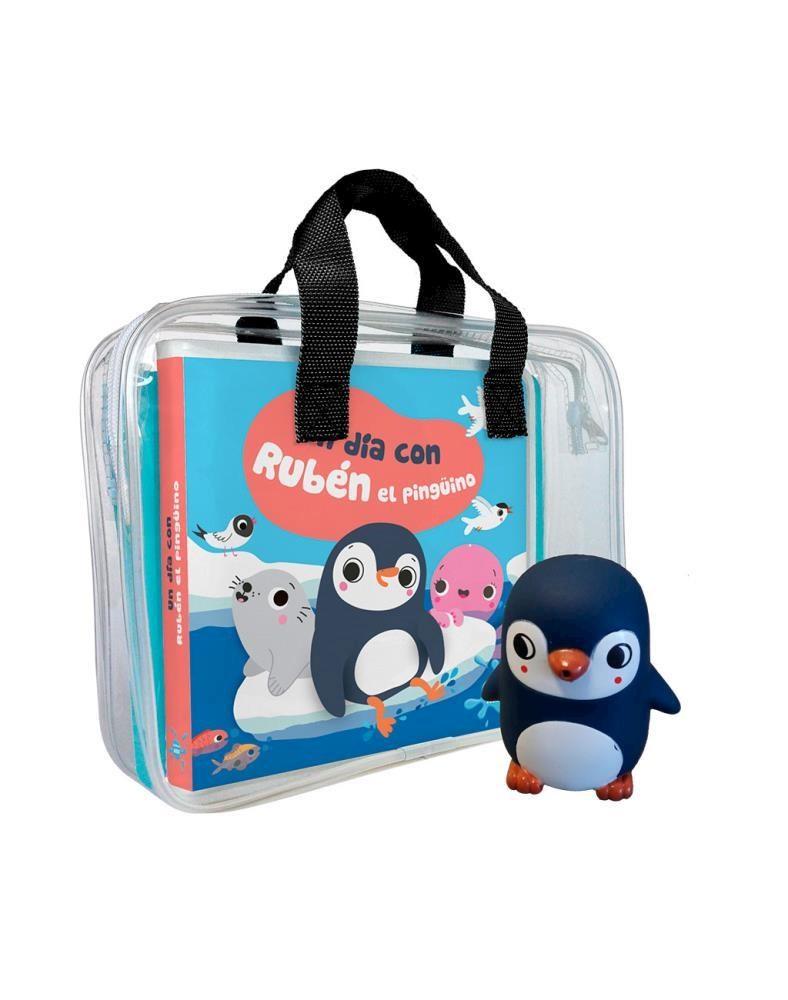 Papel Un Dia Con Ruben El Pinguino - Plastico