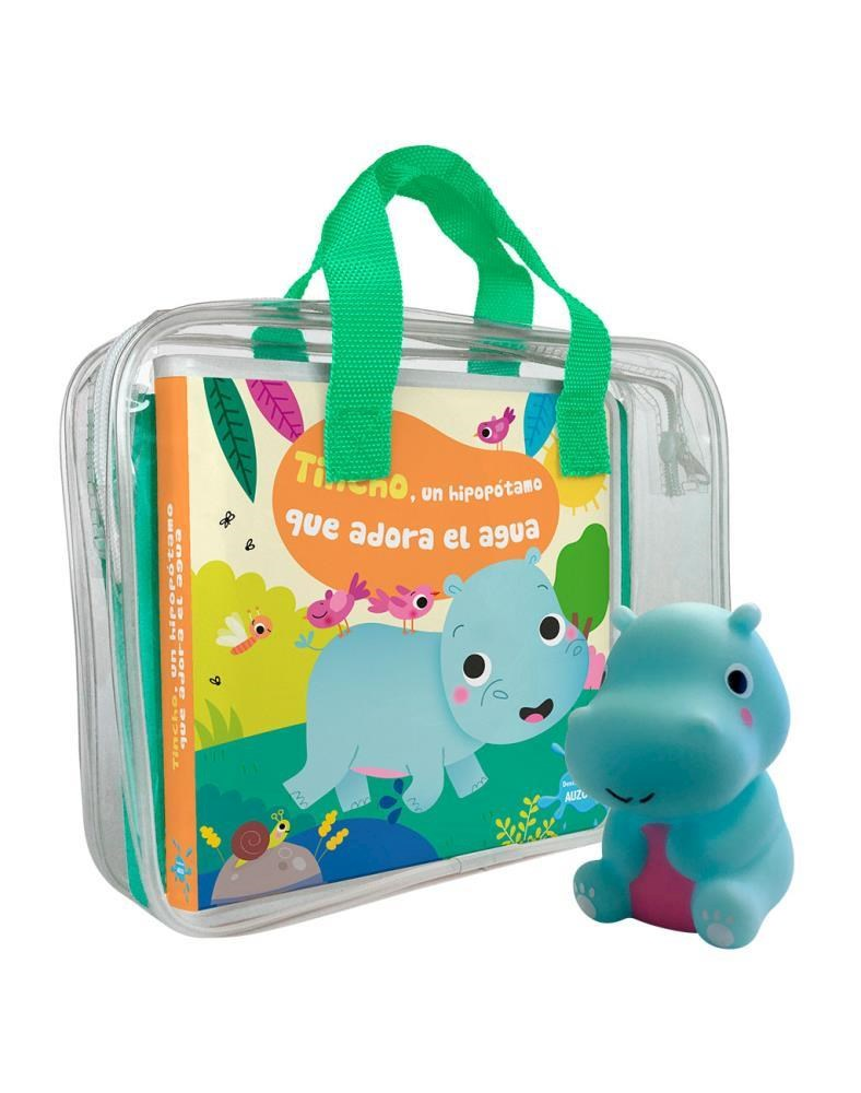 Papel Tincho, Un Hipopotamo Que Adora El Agua