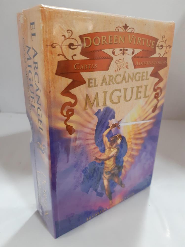 Papel Cartas Adivinatoria Arcangel Miguel Libro + Cartas