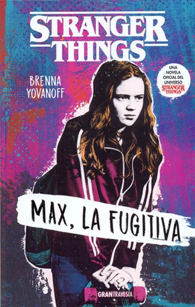 Papel Stranger Things. Max La Fugitiva