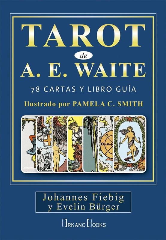 Papel Tarot De A. E. Waite (Libro + Cartas)