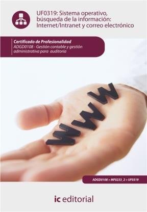 E-book Sistema Operativo, Búsqueda De Información: Internet-Intranet Y Correo Electrónico