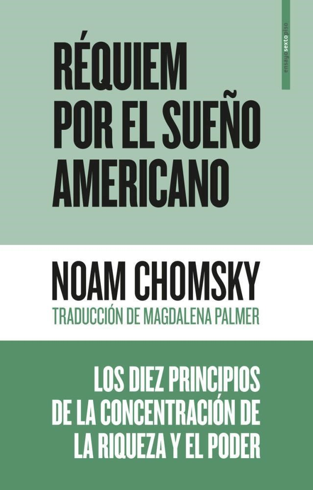 Papel Requiem Por El Sueño Americano
