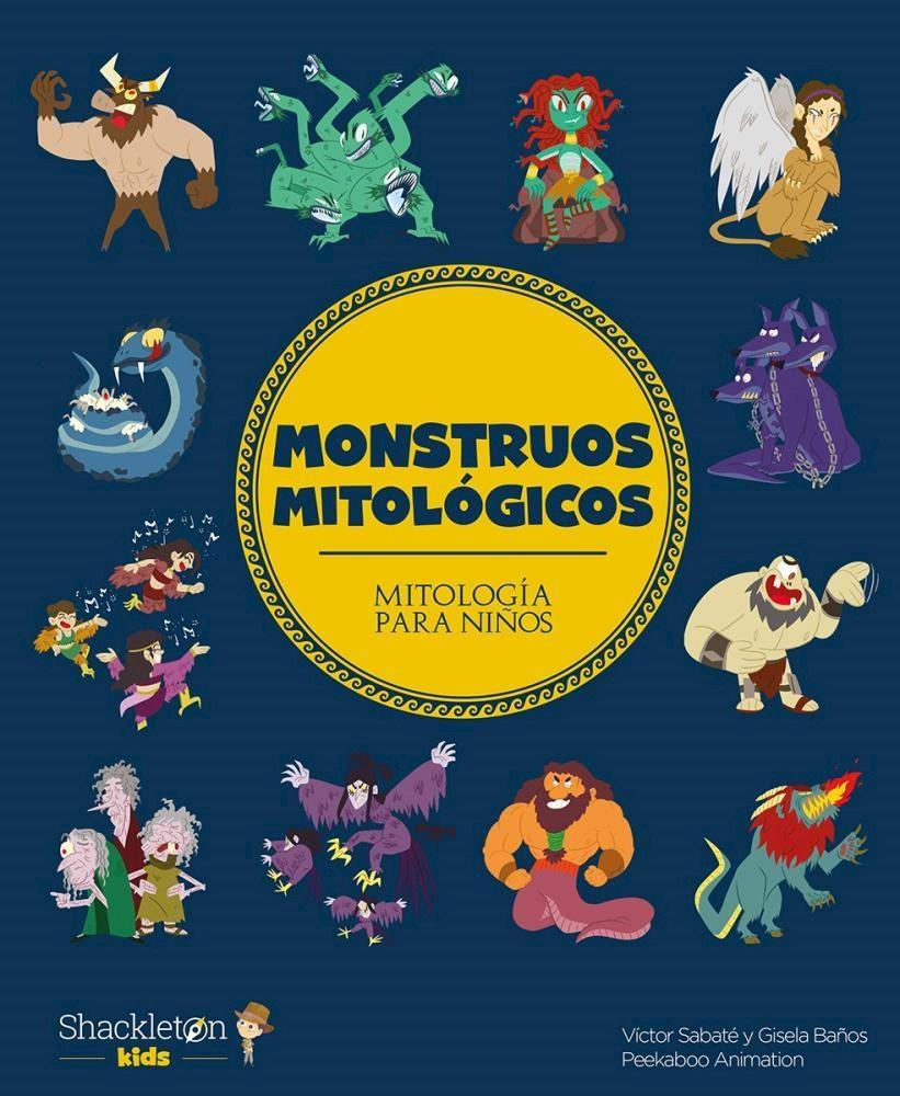 Papel Monstruos Mitologicos