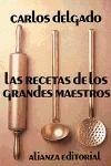Papel Recetas De Los Grandes Maestros