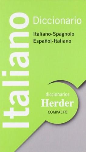 Papel Diccionario Italiano-Espa?Ol/Sp Compacto