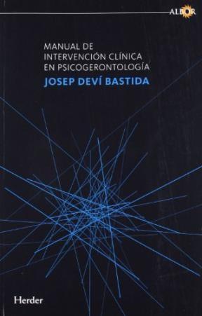 Papel Manual De Intervencion Clinica En Psicogerontologia