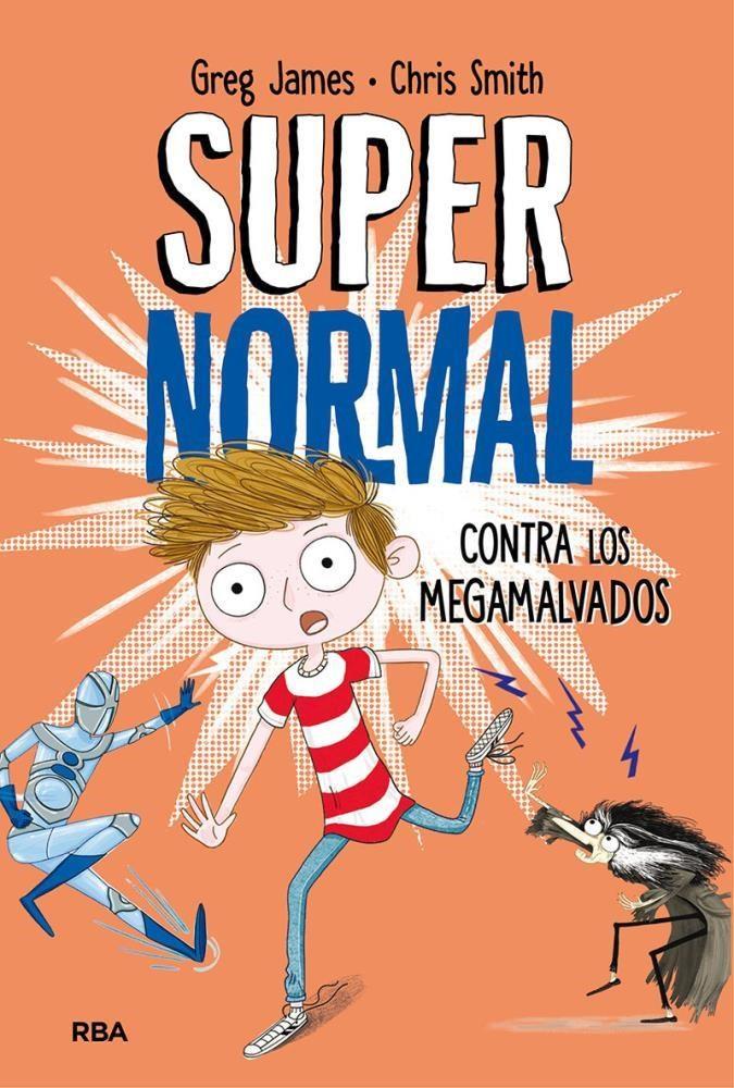 Papel Supernormal Contra Los Megamalvados