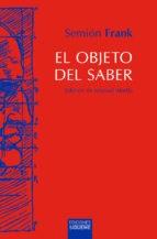 Papel Objeto Del Saber , El  Td