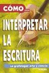Papel Como Interpretar La Escritura