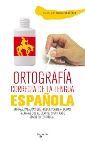Papel Ortografia Correcta De La Lengua Española