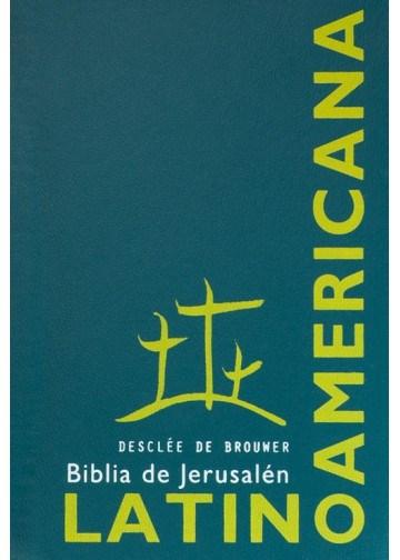 Papel Biblia De Jerusalen Latinoamericana (Funda Plastica Verde)