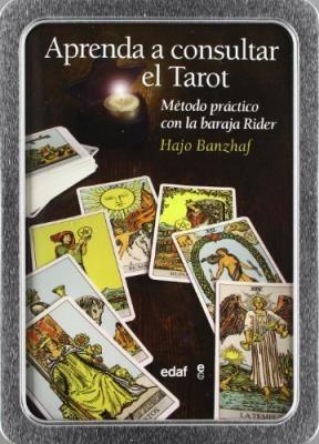 Papel Aprenda A Consultar El Tarot Kit Caja Metalica