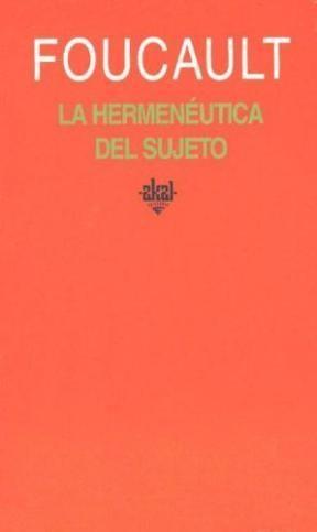 Papel Hermeneutica Del Sujeto, La