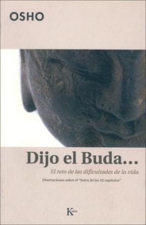 Papel Dijo El Buda El Reto De Las Dificultades De La Vida