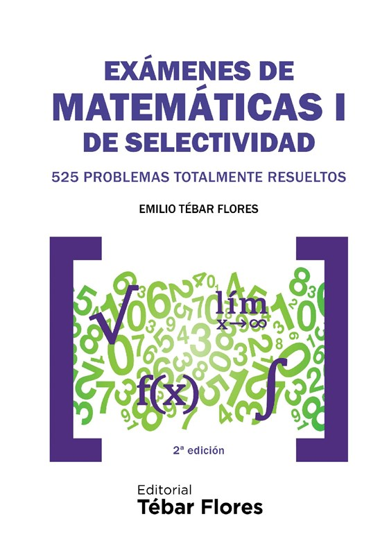 E-book Exámenes De Matemáticas I De Selectividad