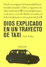 Papel Dios Explicado En Un Trayecto De Taxi
