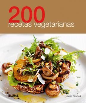 Papel 200 Recetas Vegetarianas