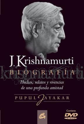 Papel Biografia J Krishnamurti (Con Dvd)