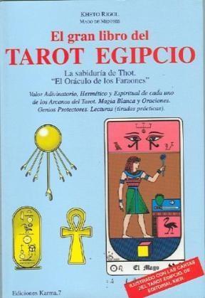 Papel Gran Libro Del Tarot Egipcio