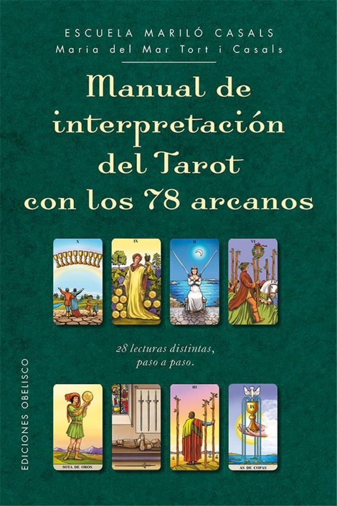 Papel Manual De Interpretacion Del Tarot Con Los 78 Arcanos