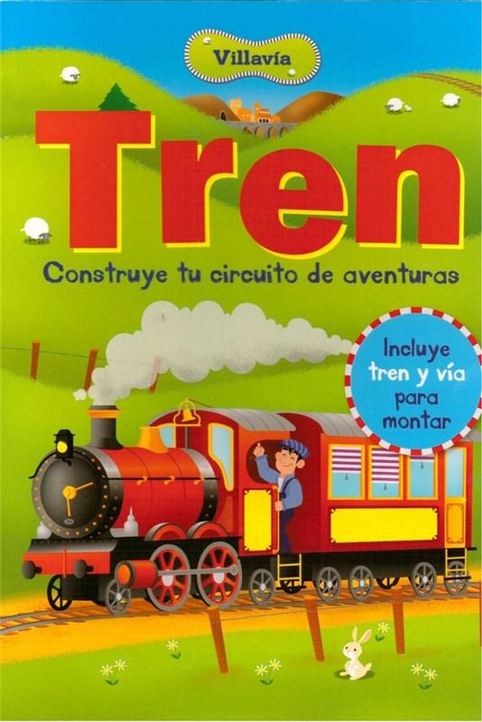 Papel Villavia Tren Construye Tu Circuito De Aventuras