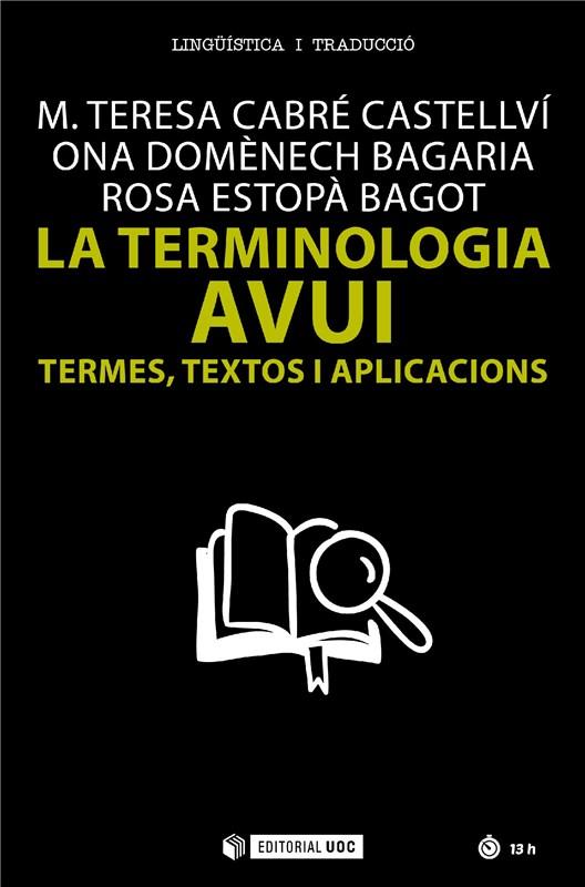 E-book La Terminologia Avui