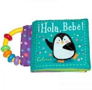 Papel Hola Bebe Colores Libro Sonajero