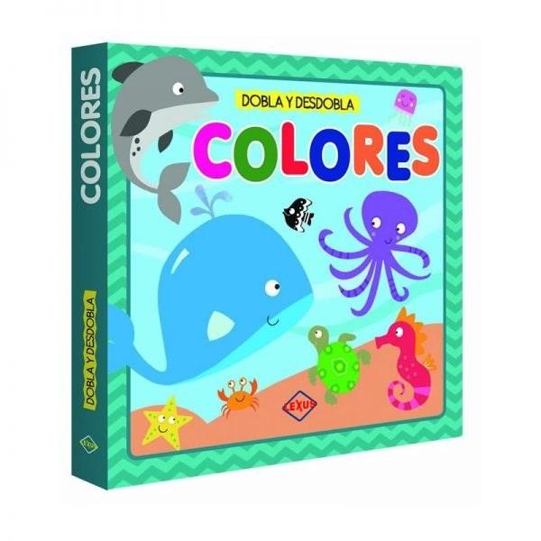 Papel Colores Dobla Y Desdobla