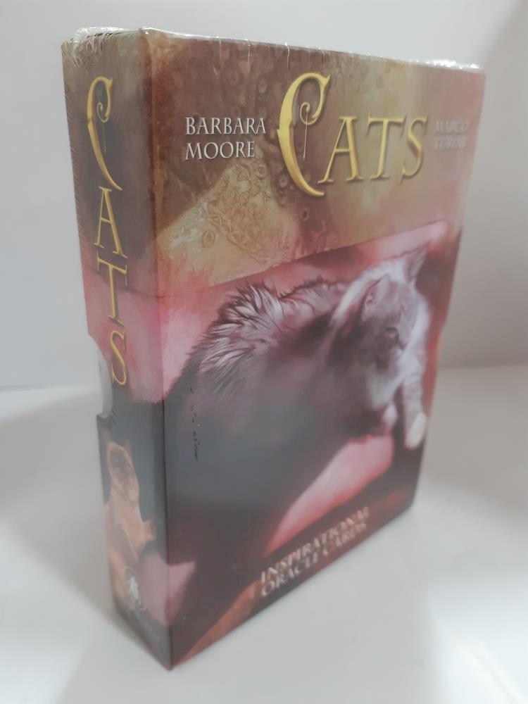 Papel Cats Inspirational Oracle Cards (Tarot, Libro + Cartas)
