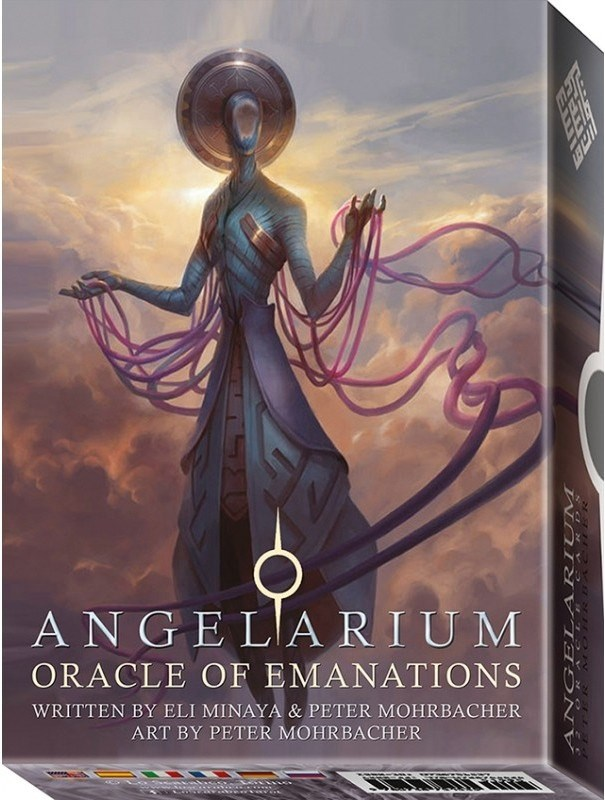 Papel Angelarium Oracle Of Emanation ( Libro + Cartas )