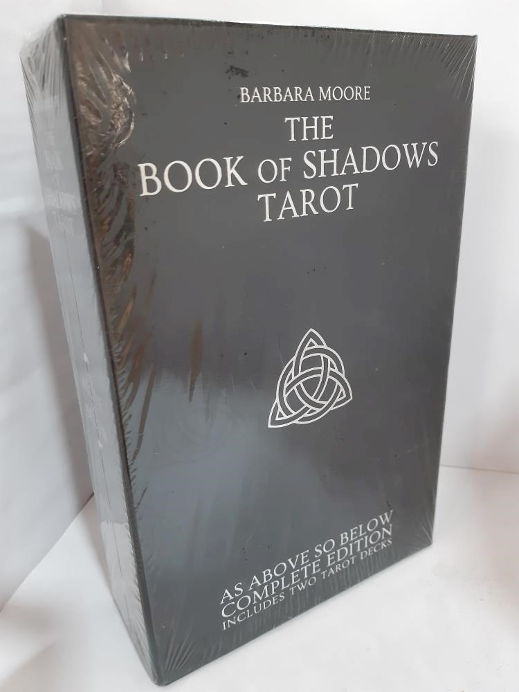 Papel Book Of Shadows Tarot, Complete Edition Incluides Two Tarot Decks, The