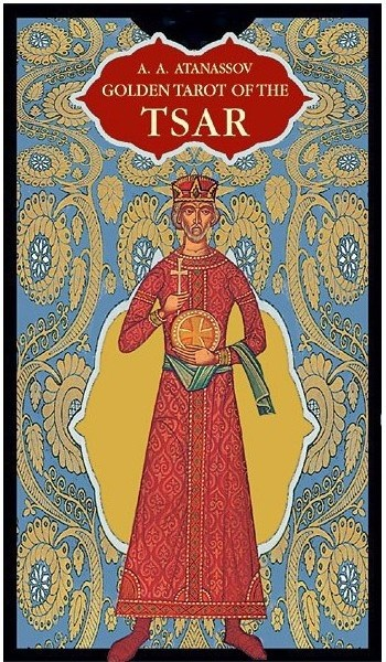 Papel Golden Of The Tsar ( Libro + Cartas ) Tarot
