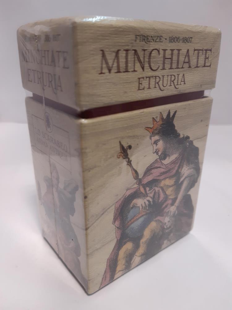 Papel Minchiate Etruria (Tarot, Libro + Cartas)