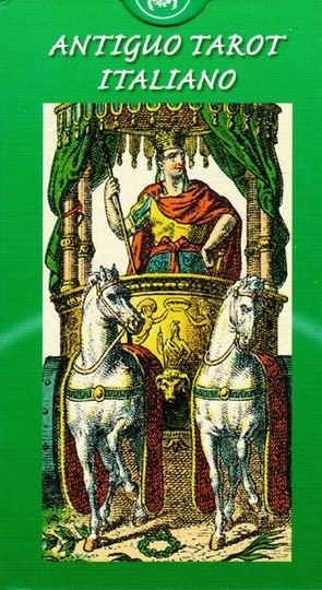 Papel Antiguo Tarot Italiano  (Libro + Cartas) Tarot