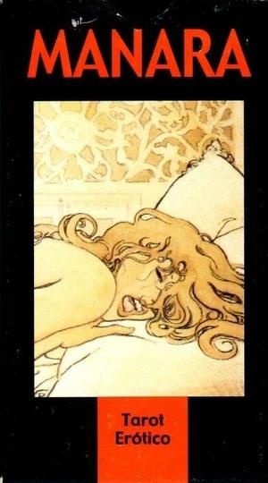 Papel Manara (Libro + Cartas) Tarot Erotico