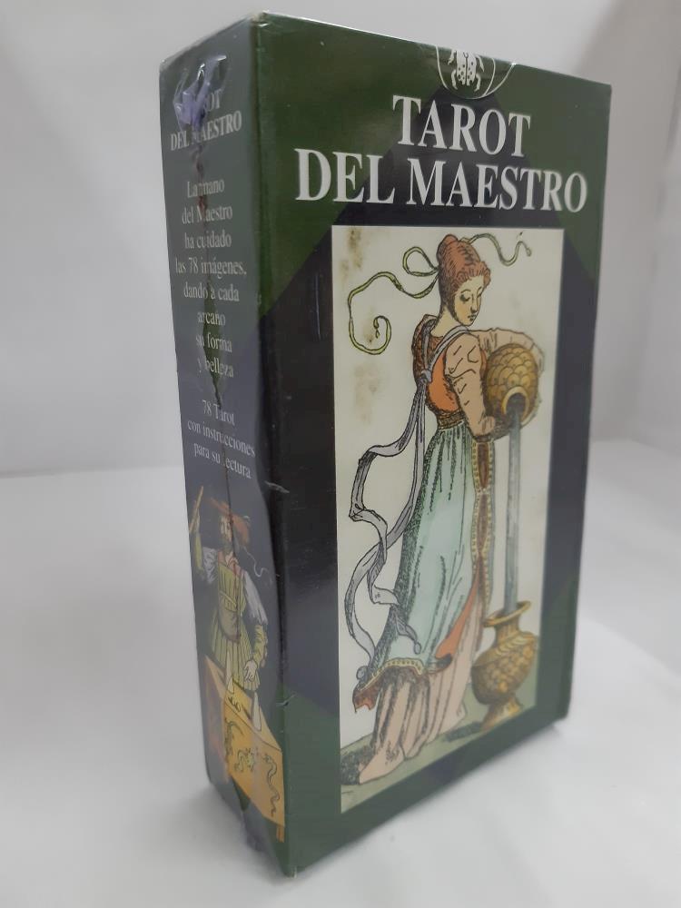 Papel Del Maestro (Libro + Cartas) Tarot