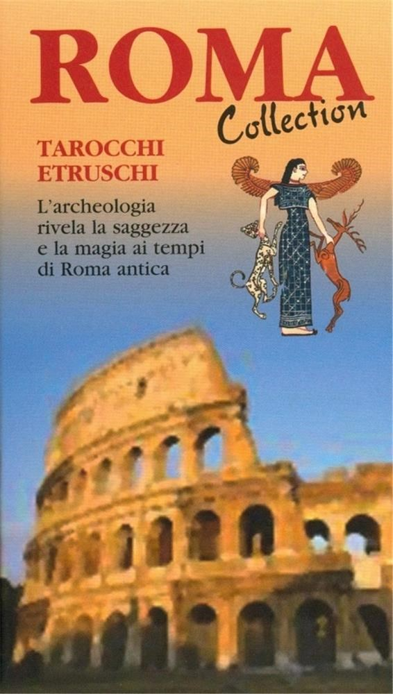 Papel Etruscan Roma Collection ( Libro + Cartas ) Tarot